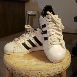 adidas Shoes - Custom Adidas Superstar 7.5 fit like 8.5 d6e490e0f15c